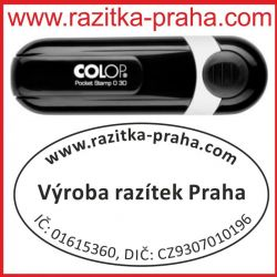 Razítko Colop Pocket Stamp Oval 30